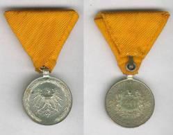 DECORATION CROIX MEDAILLE Empire Austro-hongrois 40 ANS D'ANCIENNETE POMPIER - Autriche