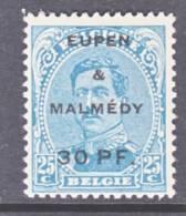 Belgium Occupation Germany  Eupen And Malmedy  1N 22   * - WW I