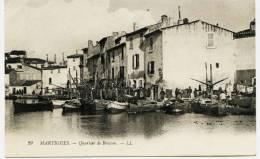 7324 - Bouches Du Rhone - MARTIGUES : Quartier De Brescon     Circulée En 1913 - Martigues