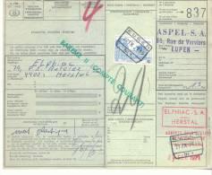 197-België  Spoorweg Chemin De Fer  Document  D.C.1985  Stempel EUPEN - 1952-....