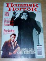 Hammer Horror 1 March 1995 The Curse Of Frankenstein Peter Cushing The Hammer Years Christopher Lee - Horreur/ Monstres