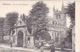 CPA ROYAUME UNI NEWBURY Church Of St Nicholas - Inghilterra