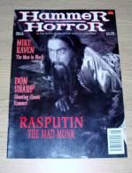 Hammer Horror 4 June 1995 Mike Raven The Man In Black Don Sharp Rasputin Christopher Lee - Horreur/ Monstres