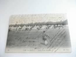 Camp De Mailly Tentes D'une Division Campo Militare Soldato - Manovre