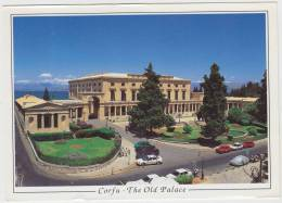 Corfu: RENAULT TWINGO, PICK-UP TRUCK, PEUGEOT 205, FIAT 128 Etc. - The Old Palace - Auto/Car/Voiture - Greece - Passenger Cars