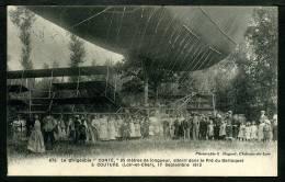 """41 - COUTURE - Le Dirigeable """" CONTÉ """" Atterri Dans Le Prè Du Berloquet 17 Sept. 19012 - Sonstige Gemeinden"""