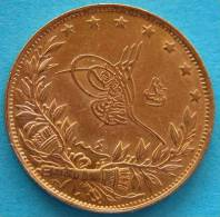 TURKEY, Muhammad V  1909/1918  - 100 Kurush 1912 Gold  Oro Or - Turquie