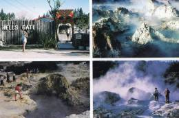Hell's Gate Multiview, Geothermal Attraction, Rotorua, New Zealand - Rotorua Printers 18 Unused - New Zealand