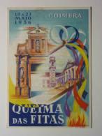B1700. PORTUGAL. Coimbra. Programa Da Queima Das Fitas 1956 / Universidade De Coimbra / Estudantes / Coimbra University. - Seizoenen En Feesten