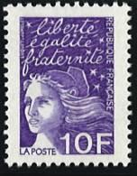 N° 3099  Année 1997  Marianne Du 14 Juillet  Faciale 10 Francs - France