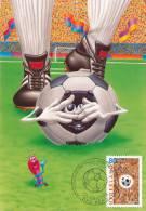 D11551 CARTE MAXIMUM CARD TRIPLE FD 2000 NETHERLANDS - SOCCER EURO 2000 CP ORIGINAL - UEFA European Championship