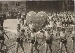 6601 - Celostani Spartakiada 1955 V Praze Dny Mladeze Slavnostni Pruvod Zactva A Dorostu - Tchéquie