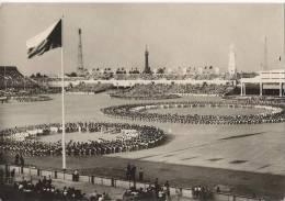 6602 - Celostani Spartakiada 1955 V Praze Dny Mladeze Dorost Pracovnich Zaloh Spolecné Vystoupeni - Tschechische Republik