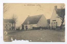 Maillet. La Place. - France