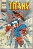 TITANS  Reliure N° 55 ( N° 163 + 164 + 165 )  -   LUG  1992 - Titans