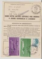 Notre Dame D´Oe.(37)).Ordre De Réexpedition Temporaire. - Poststempel (Briefe)