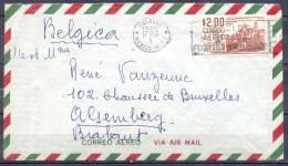 Lettre  Cachet  MEXICO  Le 19 FEB 1965  Pour  ALSEMBERG  Belgique     VIA AIR MAIL - Mexique