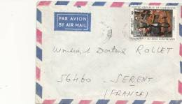 France - Marcophilie - Env. Par Avion  Du Cameroun Pour Sérent (56) 1980 - Unclassified