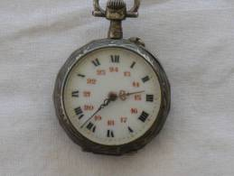 Montre De Gousset En Argent  N° 5364 - Watches: Bracket