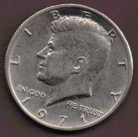 USA 1/2  DOLLAR 1971 - Federal Issues