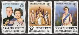 Bangladesh 1977 Silver Jubilee Coronation Queen Elisabeth - MNH**, Postfrisch Ohne Falz , Neuf Sans Charnière , Never Hi - Bangladesh