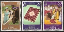 British Virgin Islands 1977  Silver Jubilee Coronation Queen Elisabeth - Complete - MNH**, Postfrisch Ohne Falz , Neuf S - Britse Maagdeneilanden