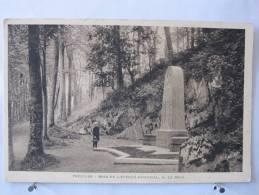 22 - Tréguier - Bois De L'Evêché - Mémorial A. Le Braz - Scan Recto-verso - Tréguier