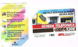 TELECOM ITALIA - C.& C. F3122 -  RENAULT        - USATA - Italia