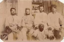 Photo Ancienne 1902 Et 03 Algerie Militaire Légion étrangère Afrique à Ain Sefra - Guerre, Militaire