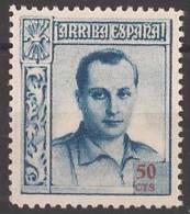 FET12-LM073TSC.Espagne.Spain.España.JOSE ANTONIO PRIMO DE RIBERA.Falange.1938. (Galvez 12**)en Nuevo.RARO - Sin Clasificación