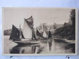 29 - Douarnenez - Bateaux De Pêche Dans Le Port - Neuve - Scan Recto-verso - Douarnenez