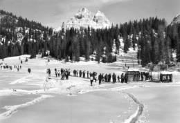 MISURINA (Belluno). Lago. Dolomiti. LAVAREDO. Neve. SCI. Vg. C/fr. 1965. - Belluno