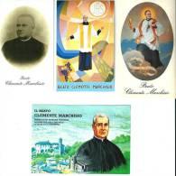B. CLEMENTE MARCHISIO - LOTTO DI 4 SANTINI DIVERSI - M - Religione & Esoterismo
