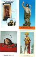 S. GIOVANNI BATTISTA  - LOTTO DI 4 SANTINI DIVERSI -  M - Religione & Esoterismo