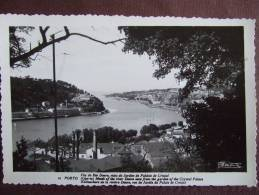 PORTO / FOZ DO RIO DOURO / EMBOUCHURE DE LA RIVIERE DOURO VUE DU JARDIN  DU PALAIS DE CRISTAL / JOLIE CARTE PHOTO - Porto