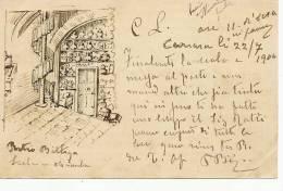 Carrara Carrare Entier Postal Entero Postal 1904 Artist - Carrara