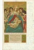 Firenze Madonna Von Boticelli Florenz Edit Stroefer Nuremberg P. Used 1901 Craiova Romania - Firenze (Florence)