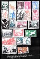 Beau Lot Timbres Oblitérés Anciennes Colonies Françaises - France (ex-colonies & Protectorats)