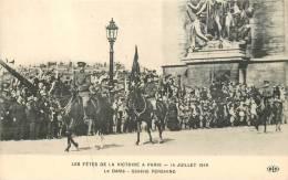 CPA LES FETES DE LA VICTOIRE A PARIS 14 JUILLET 1919 LE DEFILE GENERAL PERSHING MILITARIA - Personen