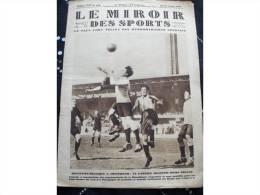 """1928 TOURNOI OLYMPIQUE DE FOOTBALL / TENNIS / BOXE GIUSEPPE SPALLA / DIRIGEABLE """" ITALIA """" - Kranten"""