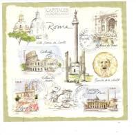 Bloc Capitales Européennes : Rome - Sheetlets