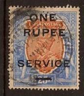 INDIA 1925 OVERPRINT SC # O71 USED - Altri