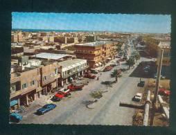 Arabie Saoudite - Saoudi Arabia - A Street In DAMMAM ( Dharan Area ) ( Voitures Américaines Vue Aérienne - Arabia Saudita