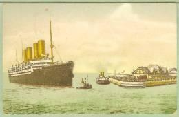 USA - Carte Postale PAQUEBOT - KAISER WILHELM II - Posted At Sea 1913 - Piroscafi