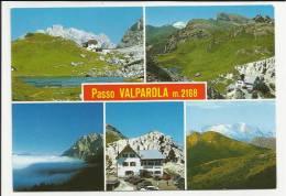 BELLA CARTOLINA CON TIMBRO  PASSO VALPAROLA RIFUGIO - Belluno