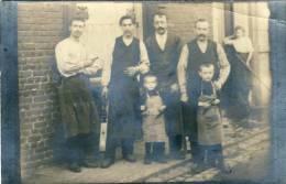 La Hestre -  Famille Huart - Carte Photo à Situer ( Voir Verso ) - Manage