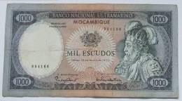 Mozambique   Billet Circulé De 1.000 Escudos - 16-05-1972 -  Plis Et  Traces De Circulation - Défauts Petit Prix - Mozambique