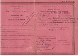 MARINE MARCHANTE 1918 - Boten