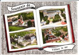 Carte ( Format 15 X 10,5 Cm ) De Villiers Le Sec   ( Recto Verso ) - France
