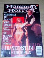 Hammer Horror 5 July 1995 Christopher Lee Susan Denberg The Creeping Flesh Frankenstein Created Woman - Horreur/ Monstres